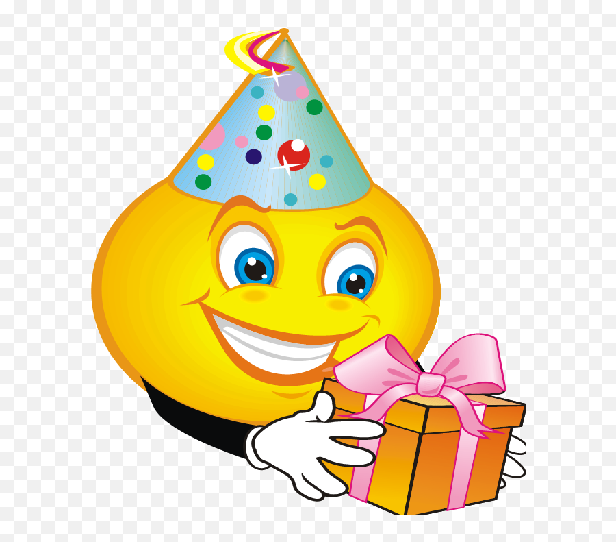 Clipart Birthday Emoji Clipart Birthday Emoji Transparent - Birthday Smiley