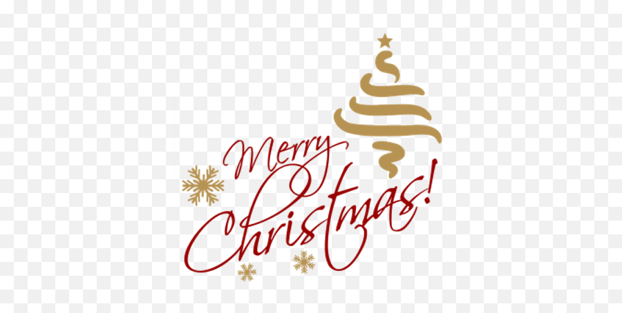 Merry Christmas Gold Transparent Png - Merry Christmas Text Png Emoji,Merry Christmas Emoji Art