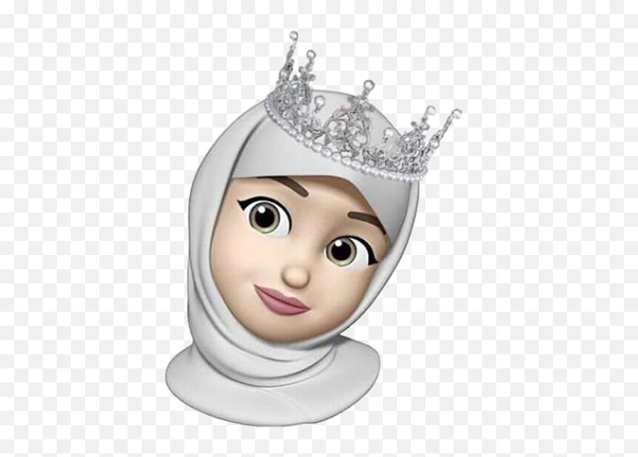 Animoji Iphone Animojiiphone Emoticon Hijab Hijabanimoj - Animoji Iphone Hijab Emoji,Hijab Emoji