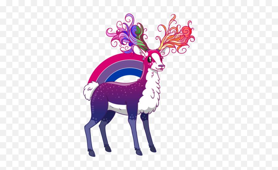 Pin - Lgbt Deer Emoji,Deer Emoji Iphone