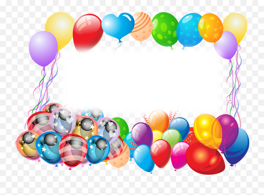 Balloons Birthday Greeting Happy - Birthday Wishes Emoji
