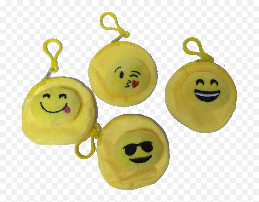 Emoji Icon Purse With Hook - Earrings