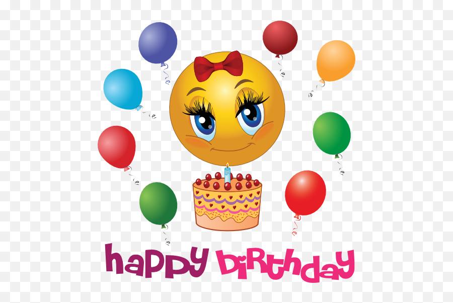 Androidadap Make Your Loved Ones Birthday Special - Smiley Happy Birthday Emoji