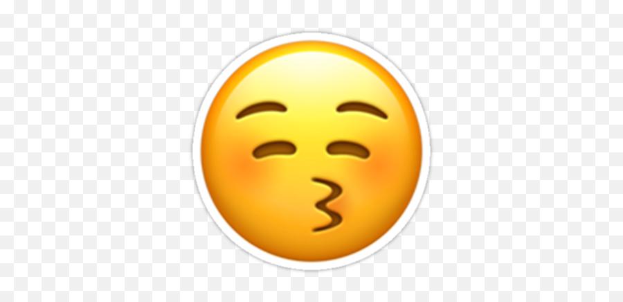 Kiss Sticker - Emoji,Kissing Emoticon