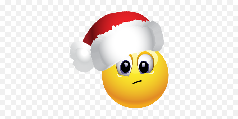Christmas Pack 1 - Smiley Emoji,Santa Emoji Iphone