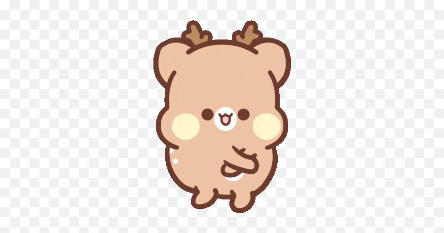 Via Giphy - Transparent Tick Tock Gif Emoji,Deer Emoji Iphone