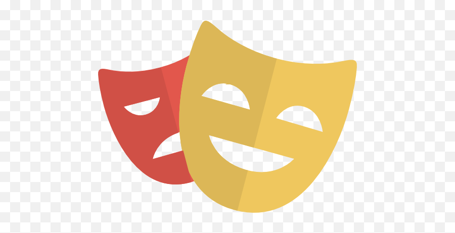 Comedy Icon Png 341332 - Free Icons Library  Theater Icon Emoji