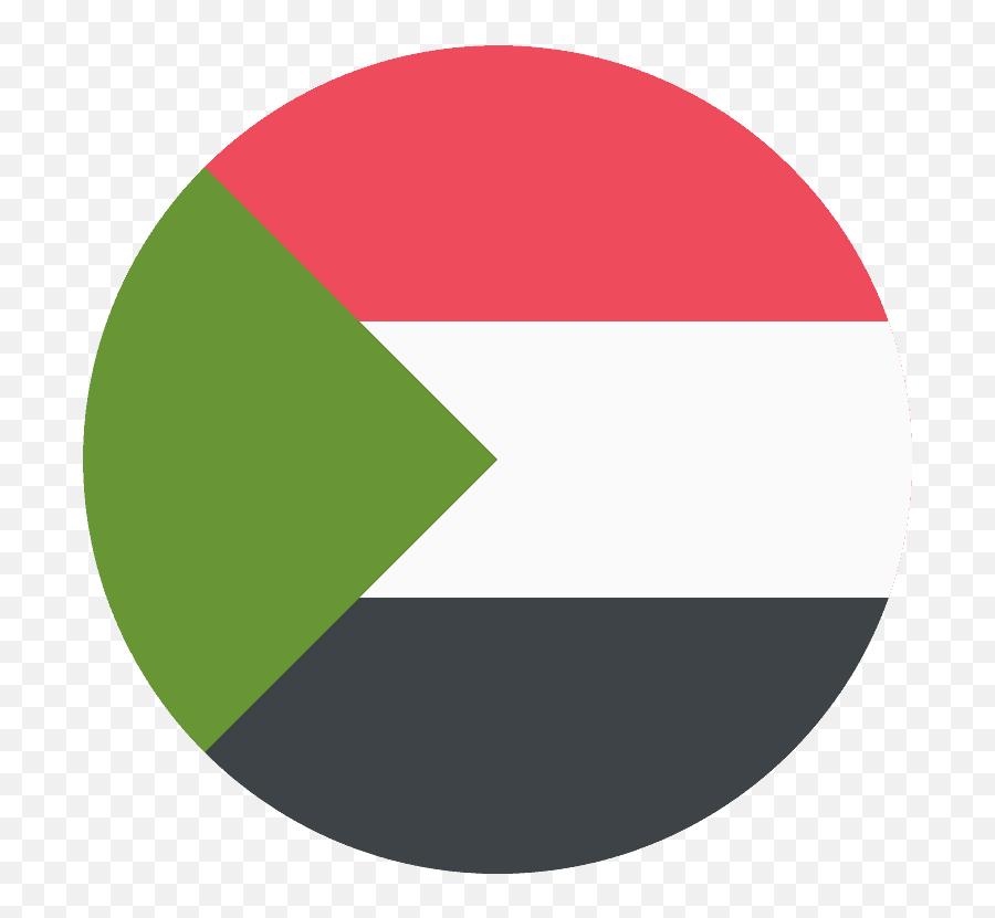 Sudan Flag Emoji Clipart - Flag Of Sudan