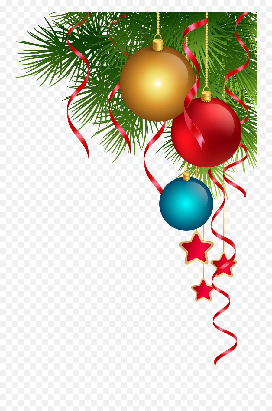 Christmas Ornament Christmas Lights - Transparent Christmas Decorations Png Emoji,Christmas Tree Emoticon