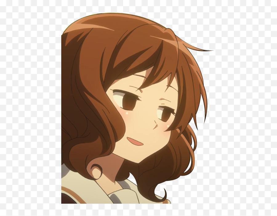 Download Member - Anime Girl Transparent Background Emoji,Sip Tea Emoji