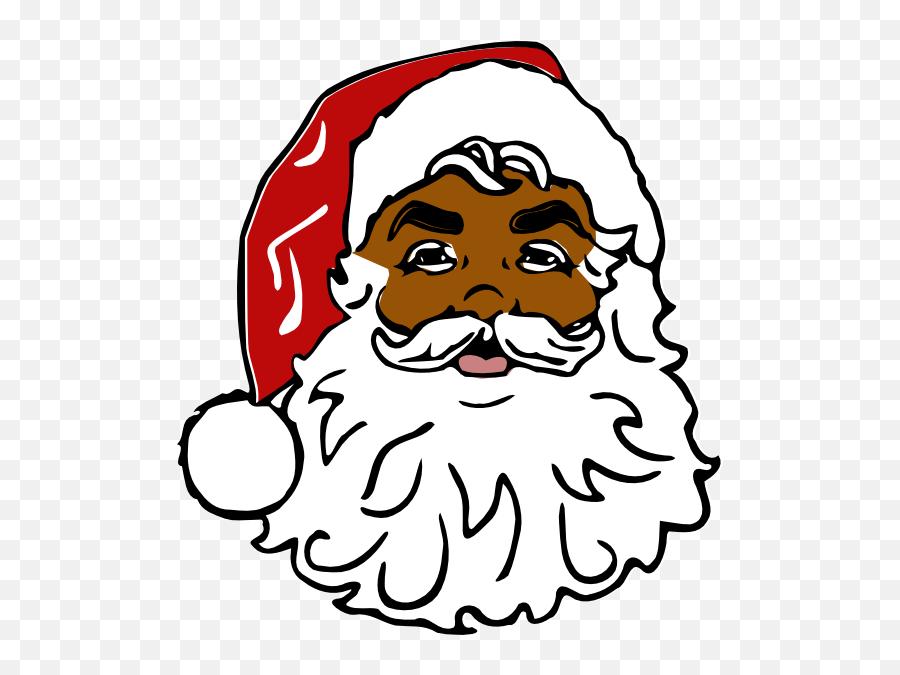 Free Santa Face Png Download Free Clip Art Free Clip Art - Black Santa Claus Png Emoji,Black Santa Emoji
