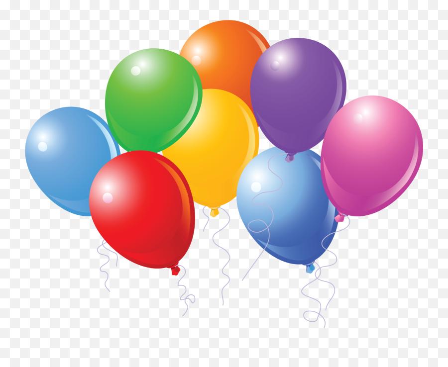 Birthday Balloons Today Is My Birthday - Cartoon Balloons Emoji