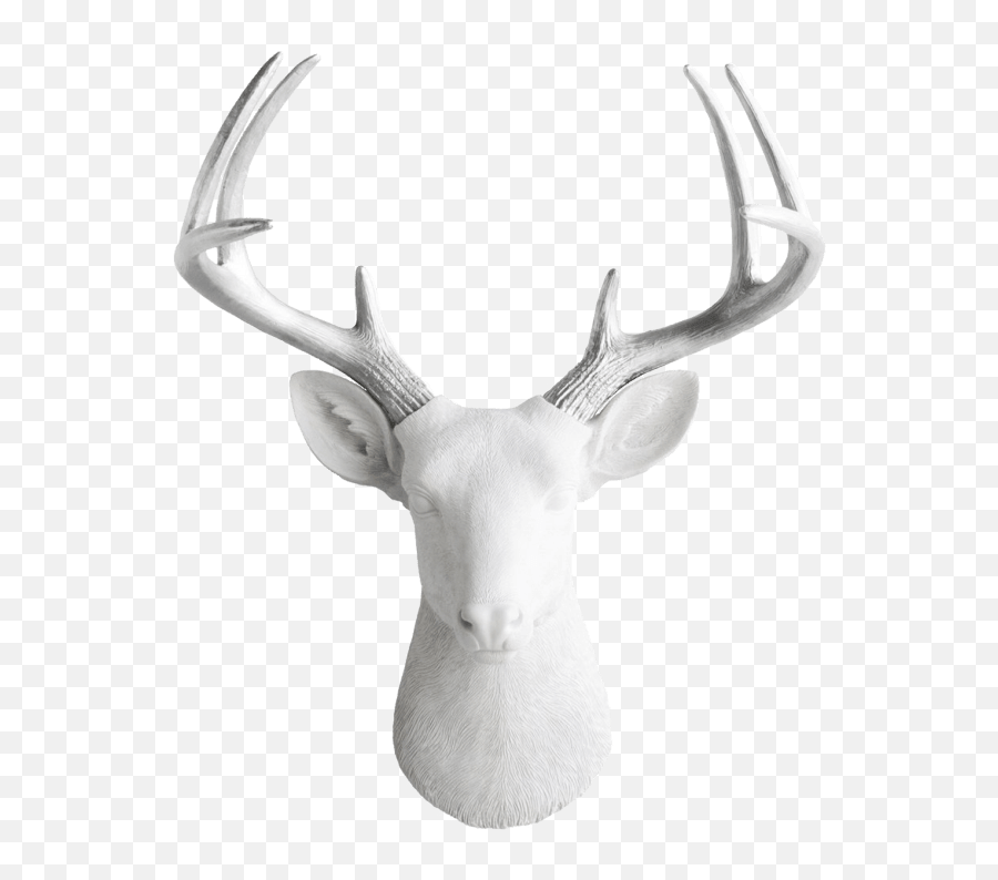 Wall Charmers Large Resin Deer - Antler Emoji,Deer Emoji Iphone