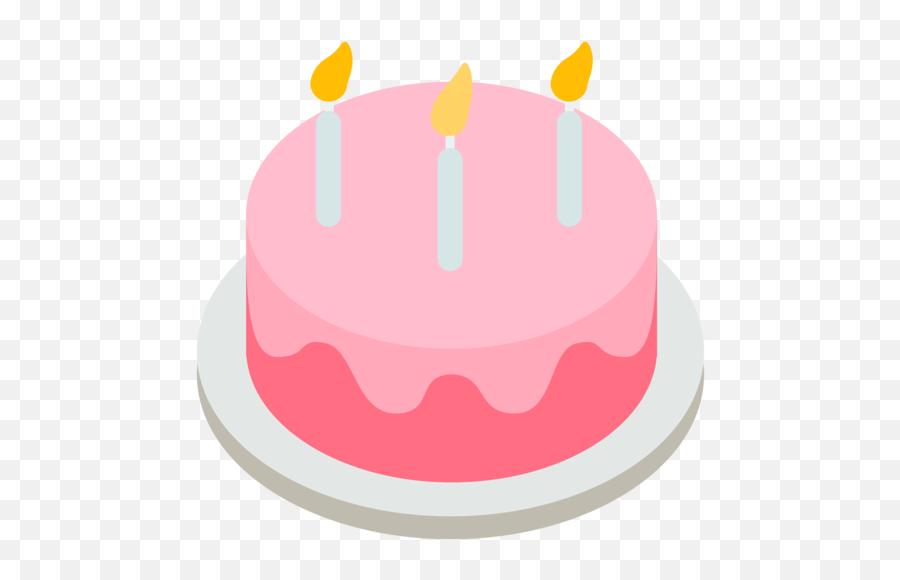 Birthday Cake Emoji - Birthday Cake Emoji Png,Birthday Emoji