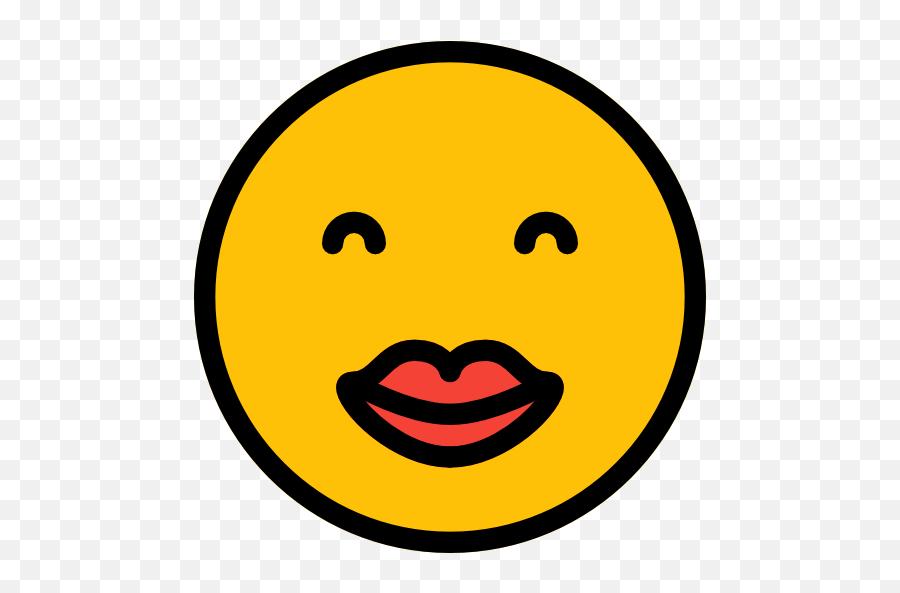 Kiss - Smiley Emoji,Kissing Emoticon