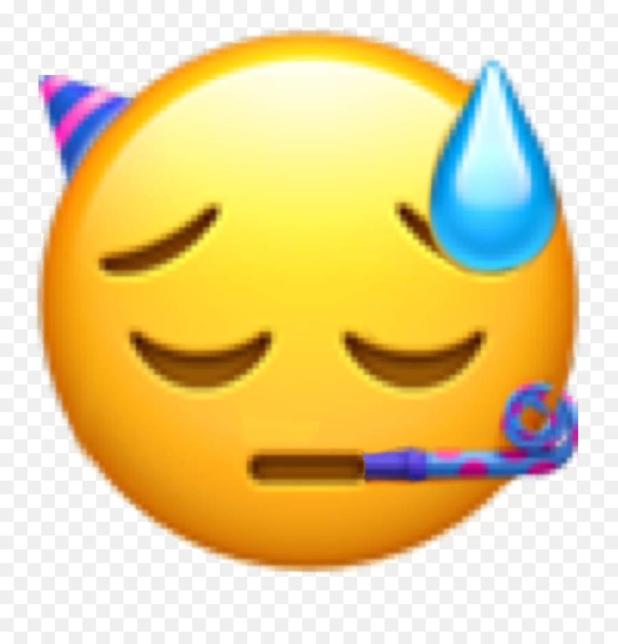 Sad Party Sticker By Billie Fanpage - It Really Hurts Emoji Mimiyuuuh Png,Disappointed Emoticon