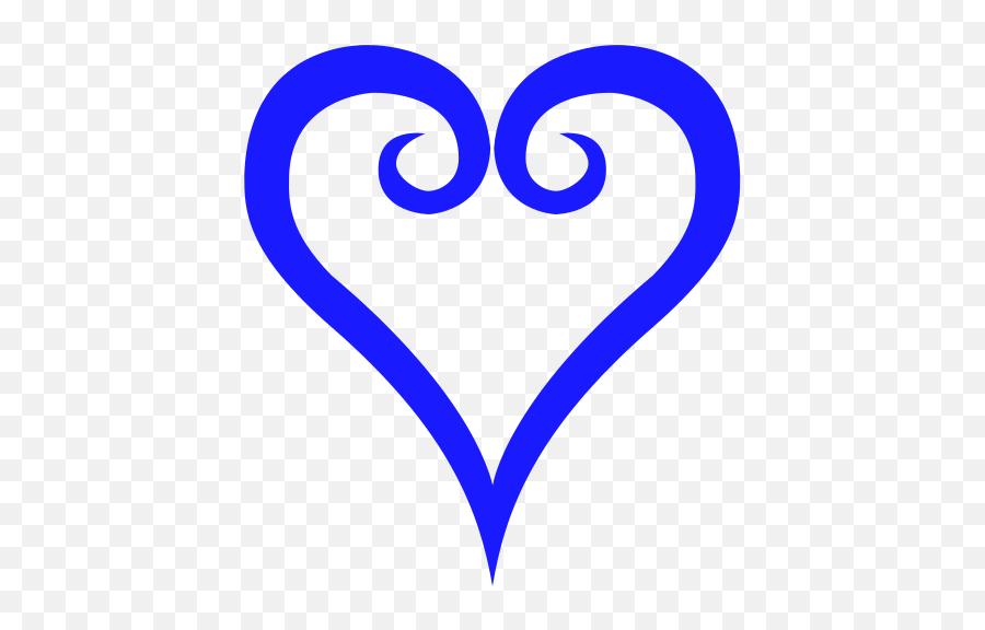 Kingdom Hearts Heart Symbol - Kingdom Hearts Heart Symbol Emoji
