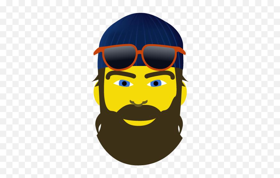 Locamoji Milwaukee By Onmilwaukee - Illustration Emoji,Beard Emoji Iphone