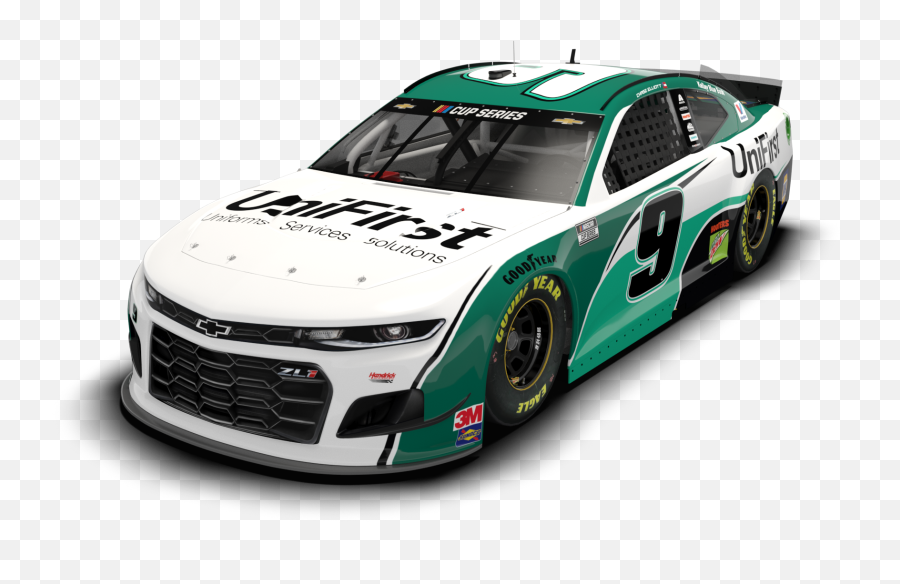 Chase Elliott In Three Cup Series Races - Nascar 2020 Paint Schemes Emoji