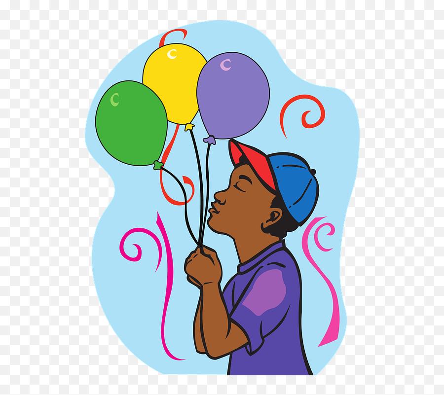 Happy Birthday Balloons Boy - Feliz Cumpleaños Sobrino Favorito Emoji
