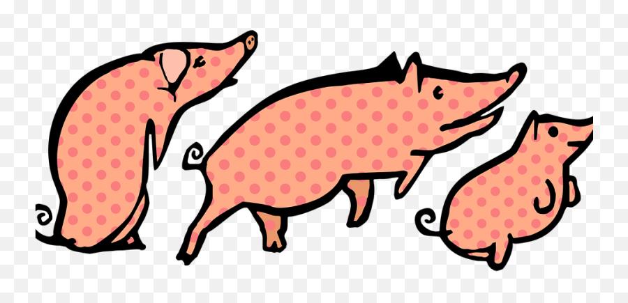 Free Trio Three Images - Domestic Pig Emoji,What Does The Peach Emoji Mean