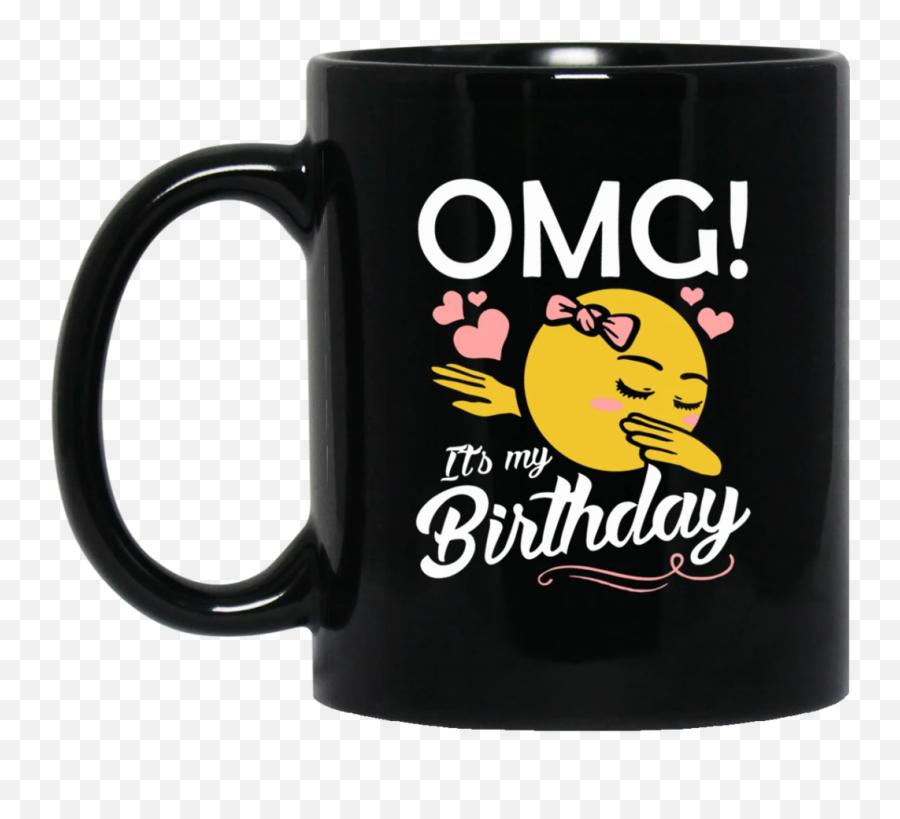 Omg Its My Birthday Emoji Dabbing Mugs - Mug,Birthday Emoji