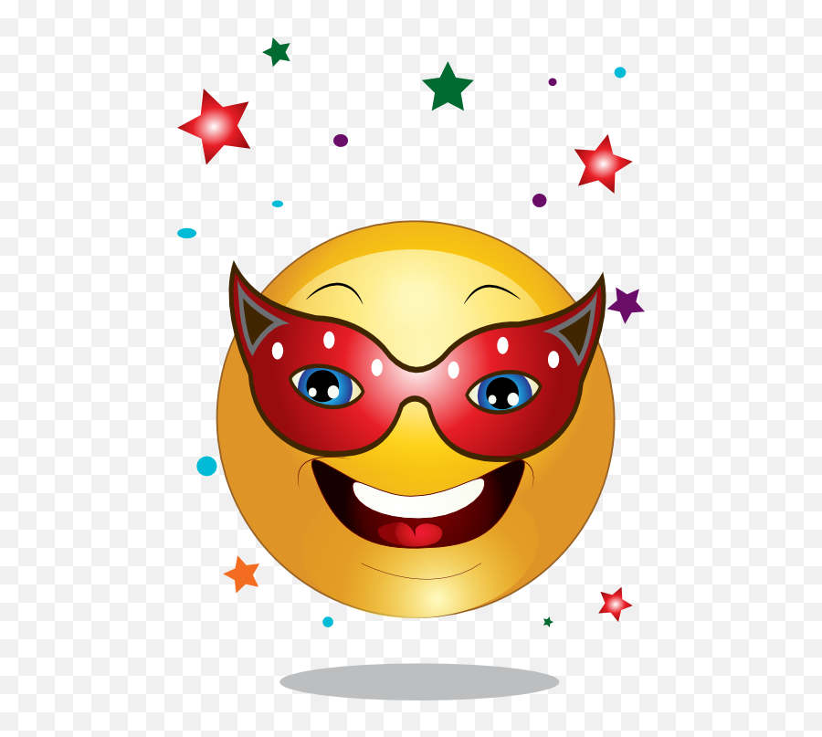 Free Party Smileys Cliparts Download Free Clip Art Free - 3star In Sun Tshirt Emoji