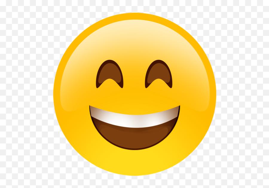 Happy Face Emoji Cutouts - Smiling Emoji