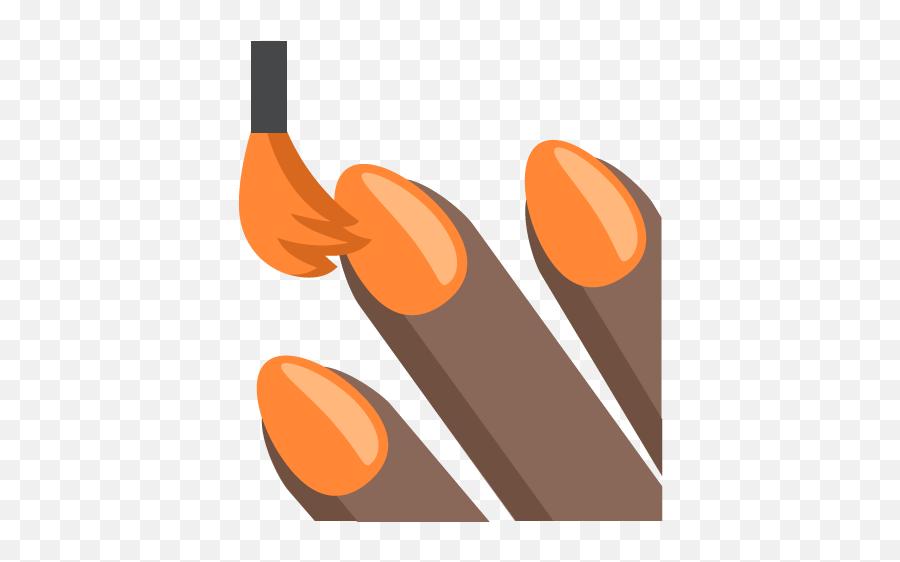 nail polish emoji transparent background orange nails clipart free transparent emoji emojipng com nail polish emoji transparent