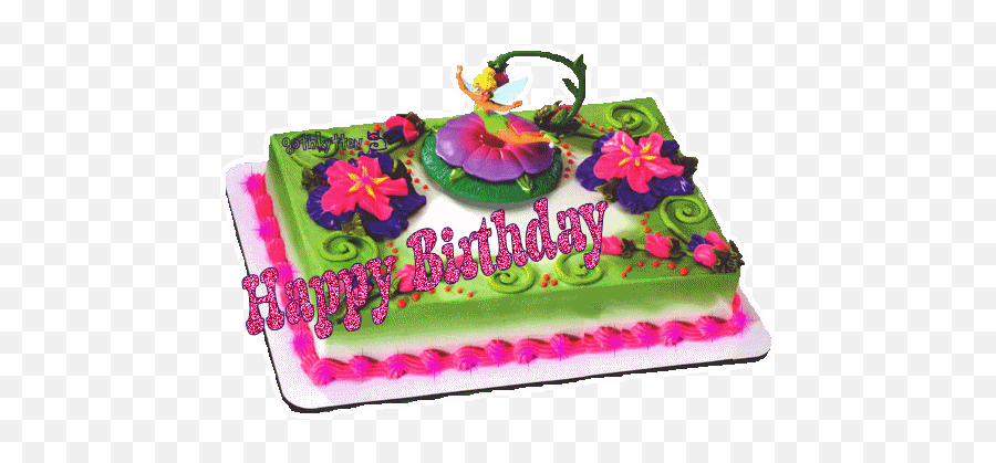 Pin - Birthday Cake Beautiful Happy Birthday Gif Emoji