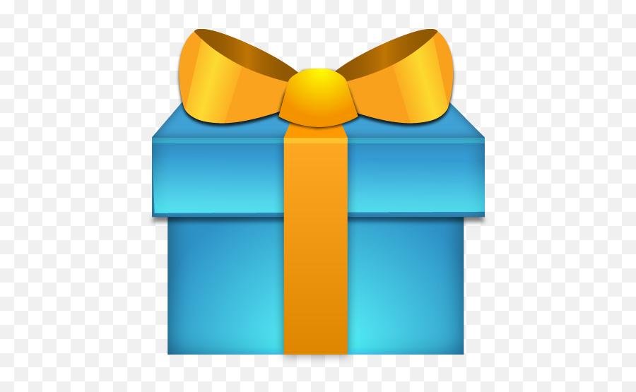Present Icon - Birthday Gift Icon Png Emoji