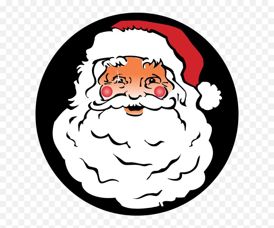 Free Santa Face Png Download Free Clip Art Free Clip Art - Santa Claus Pics Chart Emoji,Black Santa Emoji