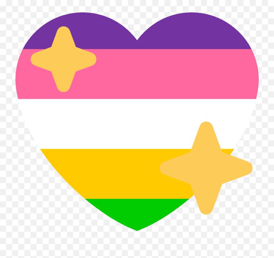 Demigender Heart Emoji Png