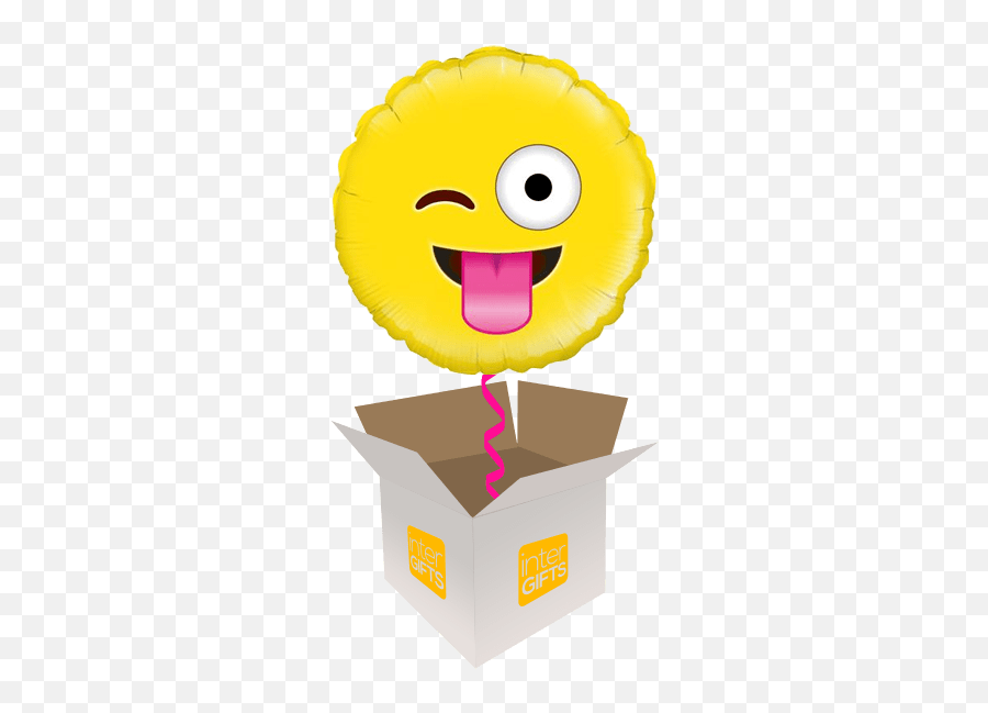 Emoji Helium Balloons Delivered In The Uk By Interballoon - Toast On Your Birthday