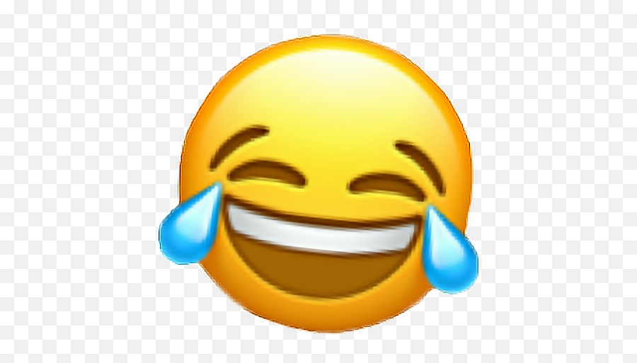 Laugh Random Tears 3d Smile Happy Funny - New Iphone Laughing Emoji,Laugh With Tears Emoji