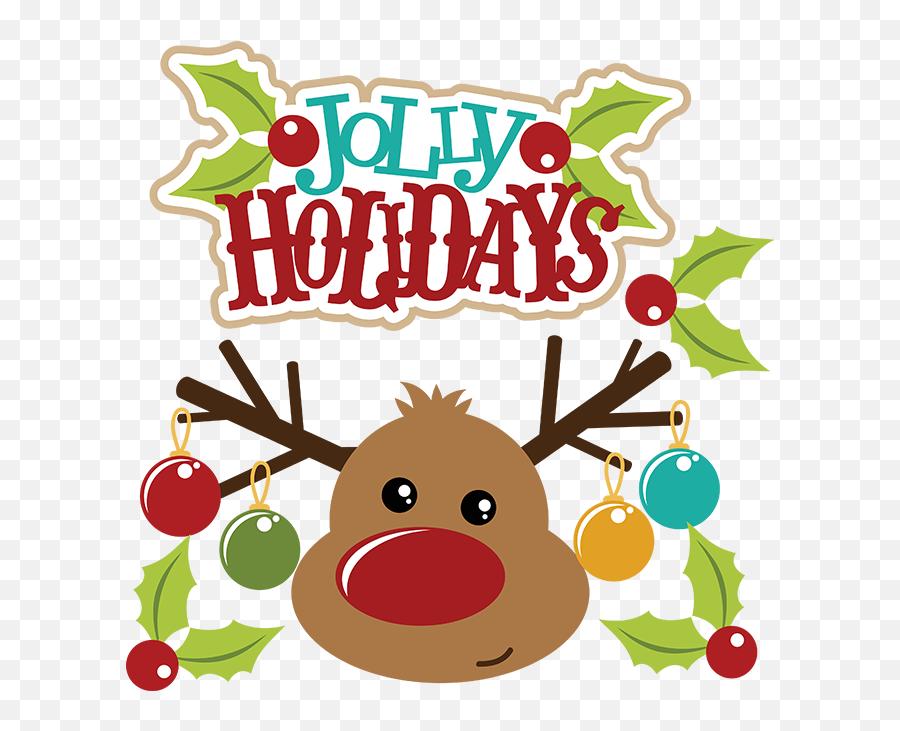Christmas Tree Art Clipart - Transparent Background Reindeer Christmas Clipart Emoji,Christmas Tree Emoticon