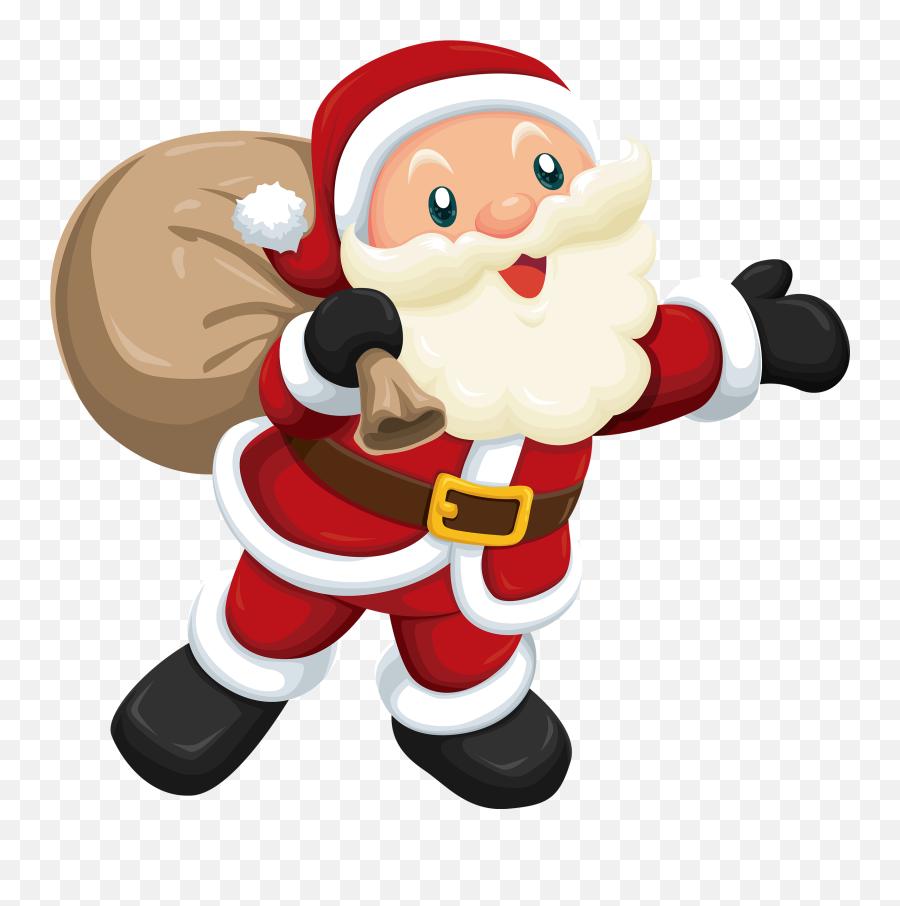 Free Christmas Clipart Animated Clip Art Santa Image 5 2 - Cute Clipart Santa Claus Emoji,Black Santa Emoji