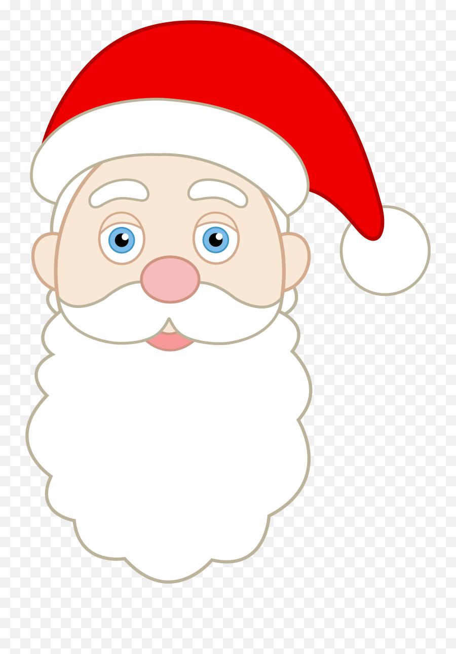Free Santa Face Download Free Clip Art Free Clip Art - Make Santa Claus Mask Emoji,Black Santa Emoji