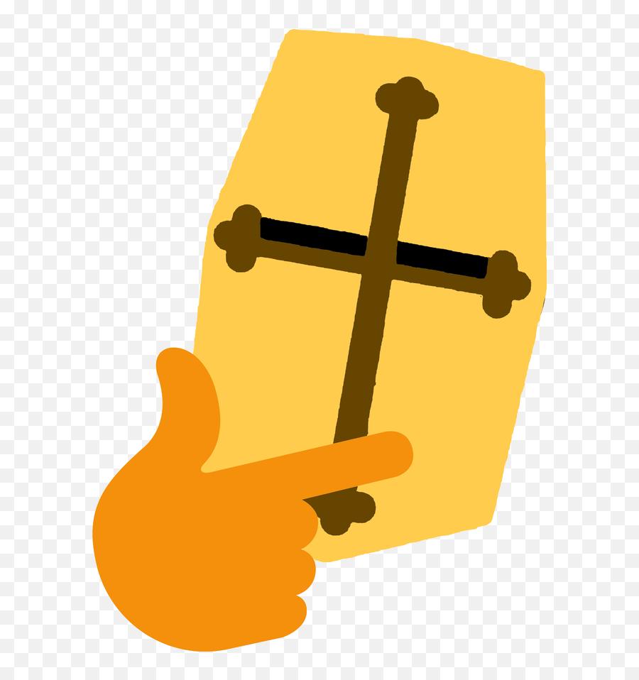 Thinking Emoji - Deus Vult Discord Emoji