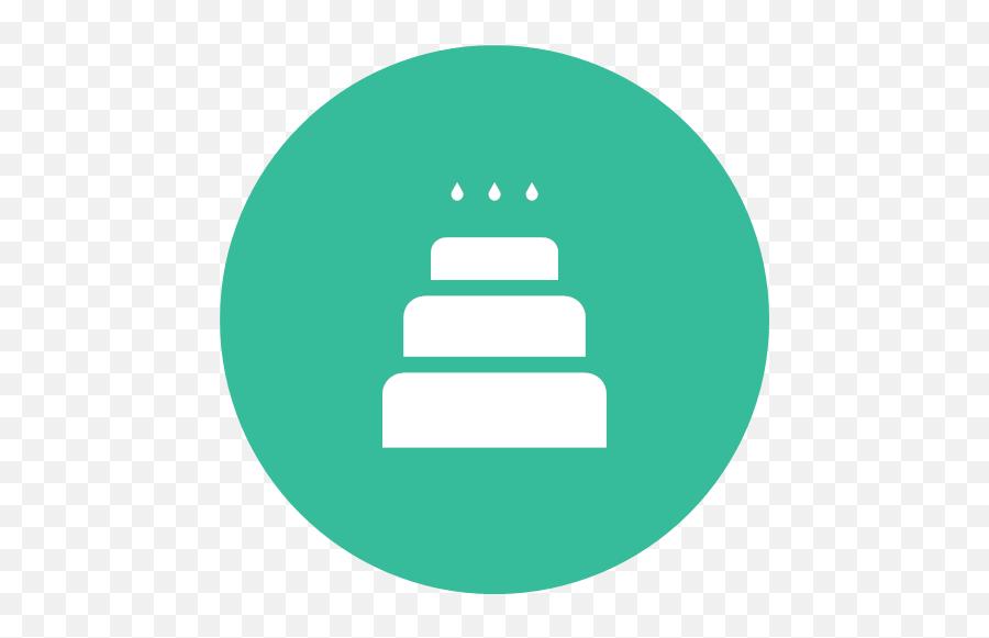 Cake Cake With Candles Celebration Christmas Cake Party Icon Emoji