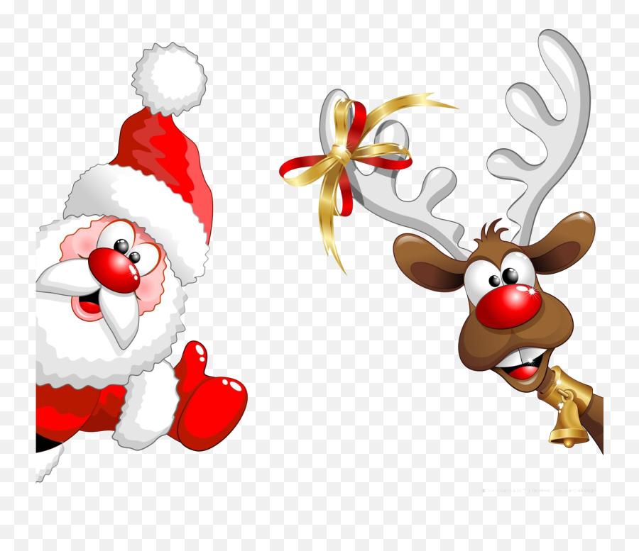 Santa Emoji Transparent Png Clipart - Father Christmas,Santa Emoji Iphone