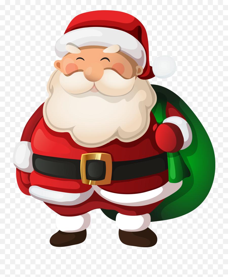 Santa Claus Clip Art Image Cool School Stuff 2 - Christmas Clip Art Santa Emoji,Black Santa Emoji