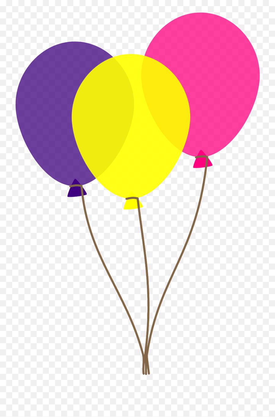 Free Birthday Balloons Clipart 6 - Balloon Clipart Transparent Background Emoji
