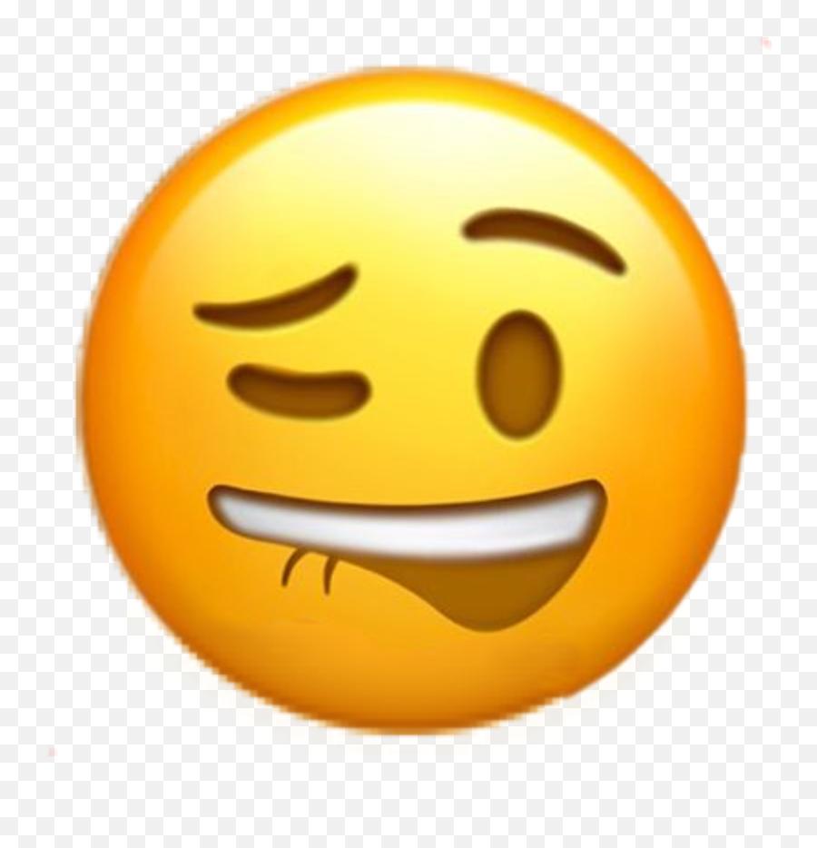 Edit - Lip Biting Emoji Transparent,Lip Biting Emoji