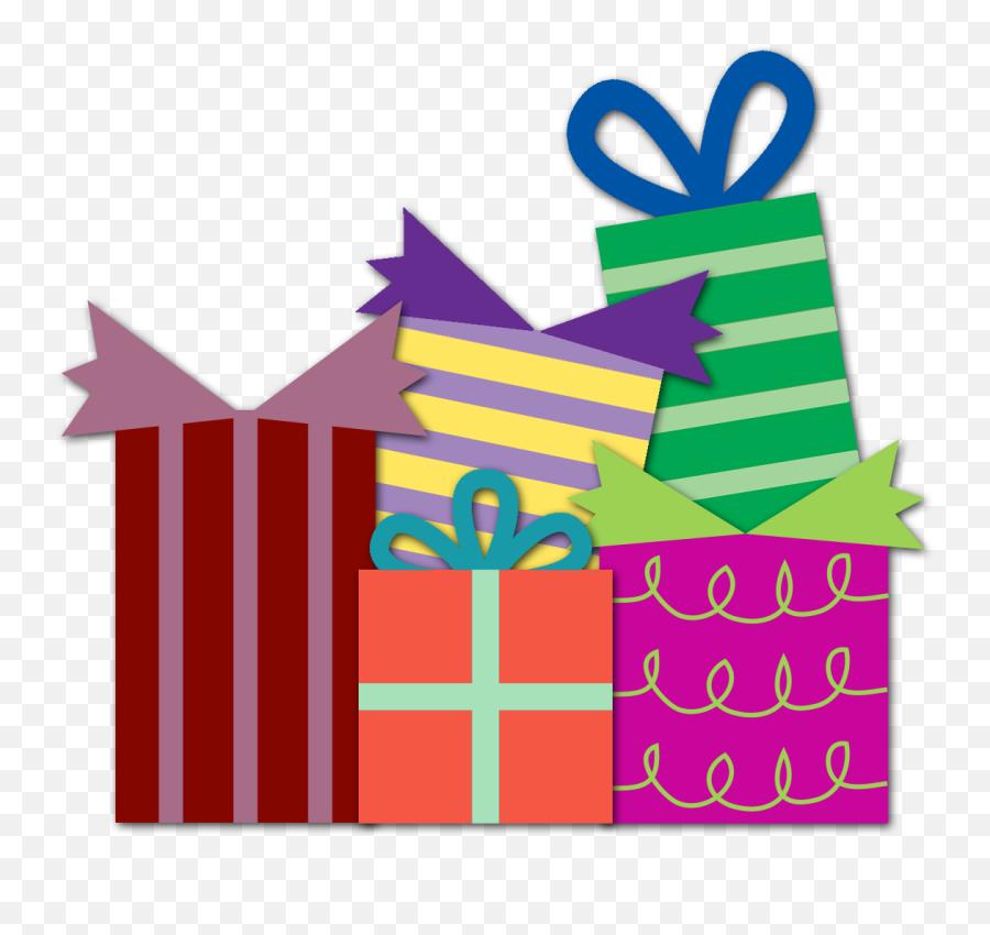 Happy Birthday Present Clipart Kid - Transparent Background Birthday Presents Clipart Emoji