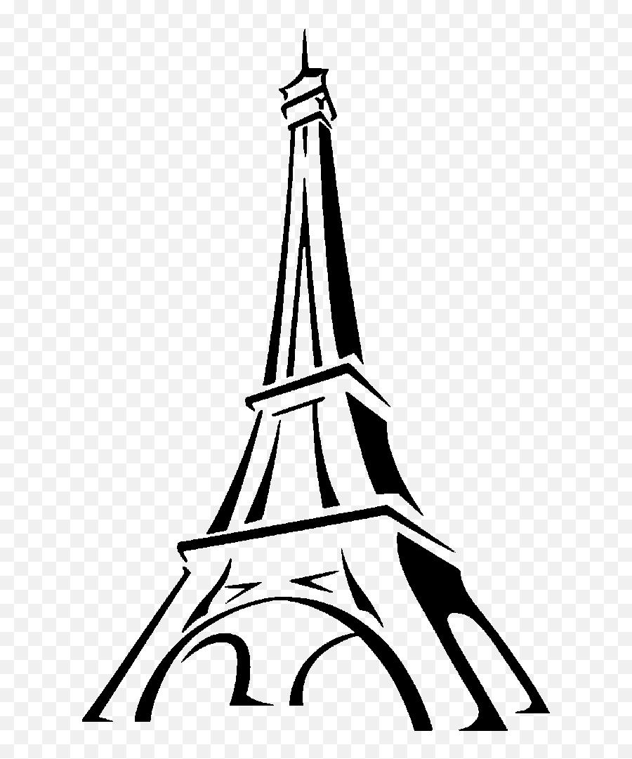 Eiffel Tower Drawing Clip Art - Tour Eiffel Png Emoji,Is There An Eiffel Tower Emoji