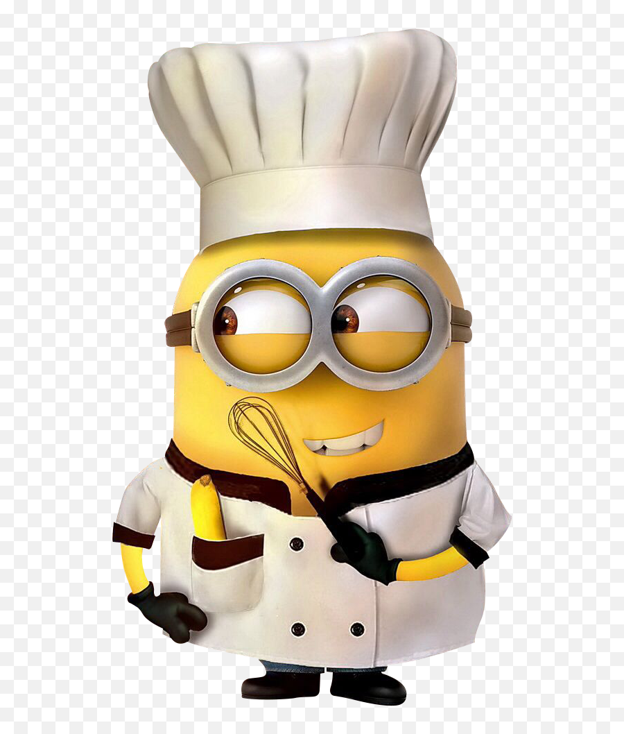 Minions Png - Minions Chef Png Emoji,Robot Emoji Iphone