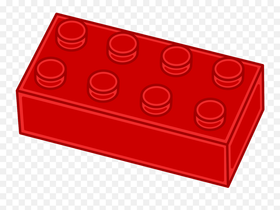 Free Image - Red Lego Clipart Emoji,Brick Emoji
