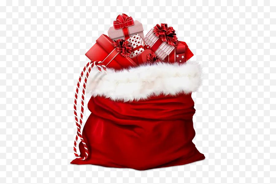 Santa Claus Gift Bag Emoji,Santa Emoji Iphone