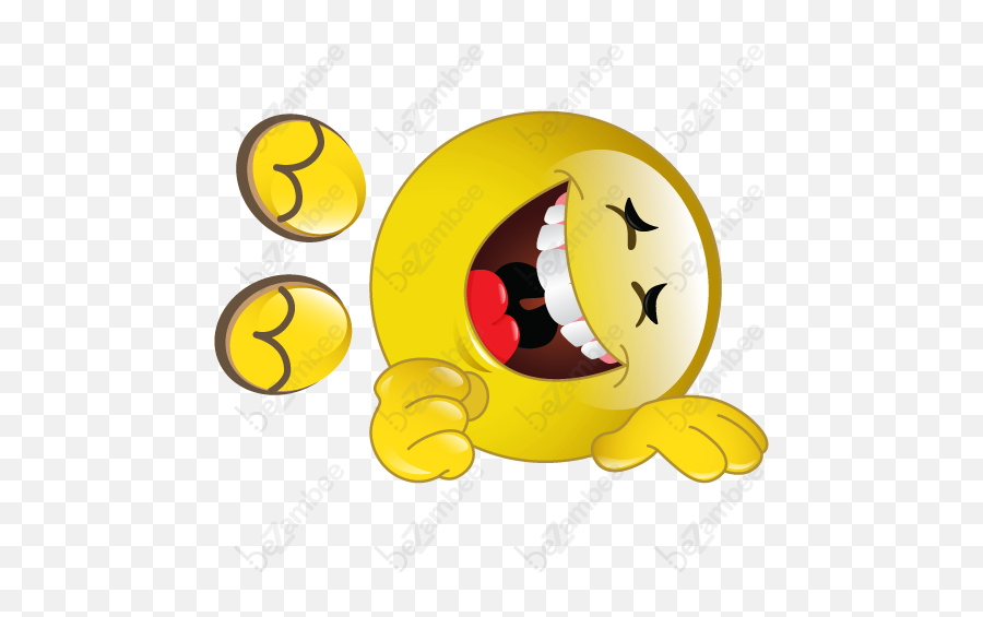 Smiley Face Background Clipart - Laughing On The Floor Emoji,Laughing Emoji Transparent